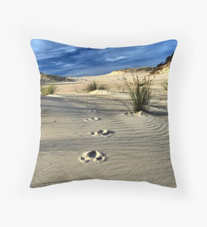 Emu Tracks 2. Throw Pillow