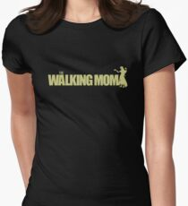 The Walking Mom! Women's Fitted T-Shirt