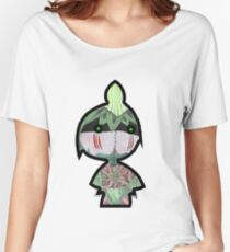 Cute Little Leaf Warrior Women's Relaxed Fit T-Shirt