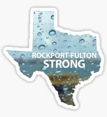 Rockport-Fulton Strong Sticker