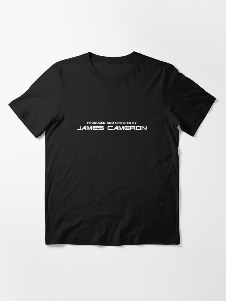 Alternate view of Terminator 2: Judgement Day | Produced and Directed by James Cameron Essential T-Shirt