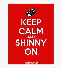 Keep Calm and Shinny On Photographic Print