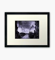 Sumi-e Ink 4 Framed Print