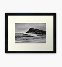 Sumi-e Ink 5 Framed Print