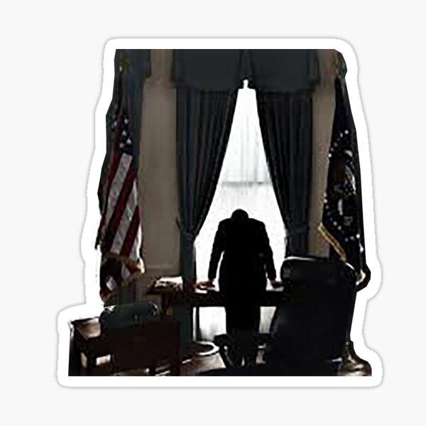 JFK in the Oval Office Sticker