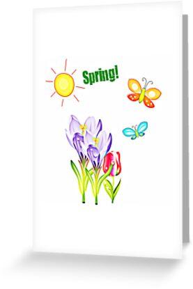 Spring! by Brenda Anderson