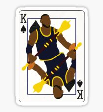 King of Spades Lebron Sticker