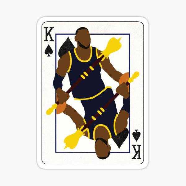 King of Spades Lebron Sticker