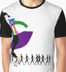 Yield For Pedestrians Graphic T-Shirt