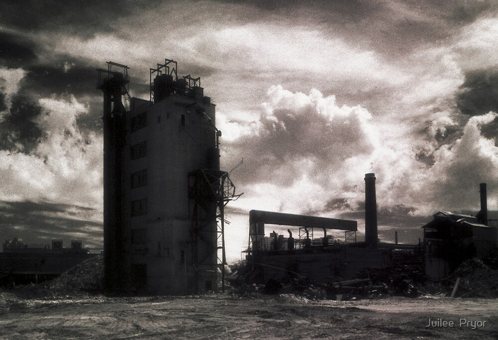 Landscape for Orson Wells # 3: Stack by Juilee  Pryor