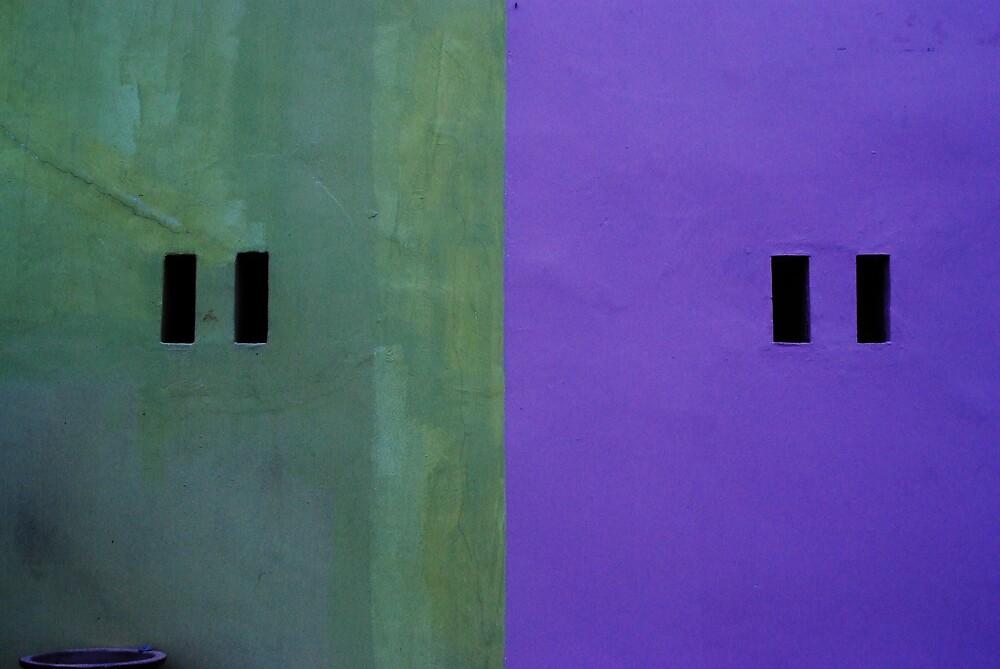 Green Purple by richardseah