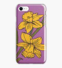 March - Daffodils  iPhone Case/Skin