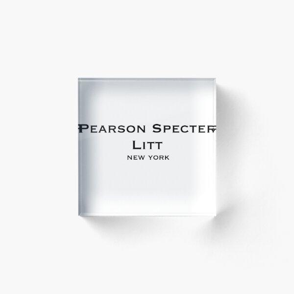 Pearson Specter Litt  Acrylic Block