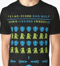 Space Invaders - Doctor Who Edition Graphic T-Shirt