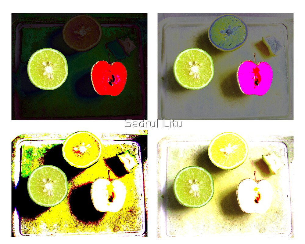 apple by Sadrul Litu
