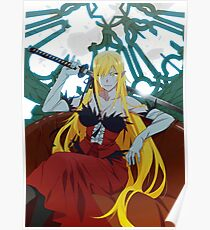 Kizumonogatari: Kiss-shot Acerola-orion Heart-under-blade Poster