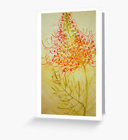 grevillea 'for the love of flowers' © 2007 patricia vannucci  Greeting Card