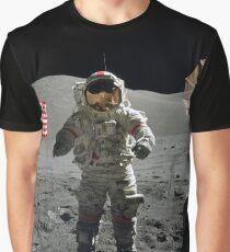 Camiseta gráfica Apollo 17-Cernan (vehículo lunar)