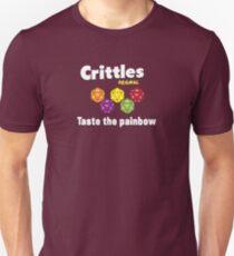 Camiseta ajustada Crittles-Taste The Painbow