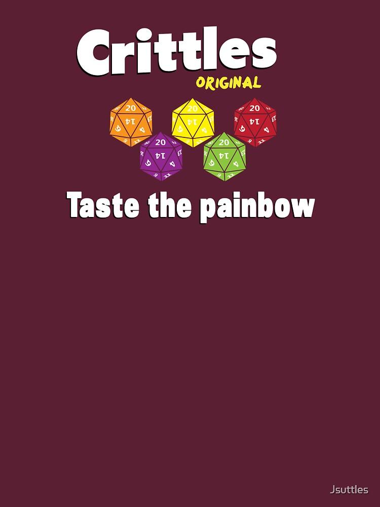 Crittles-Taste The Painbow | Unisex T-Shirt