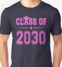 Class of 2030 Pink Girl Shirt Unisex T-Shirt