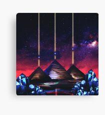 Giza-Orion Alignment  Canvas Print