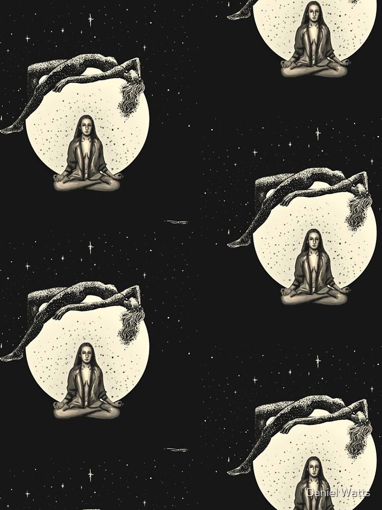 Lunar Meditation by DanJohnDesign