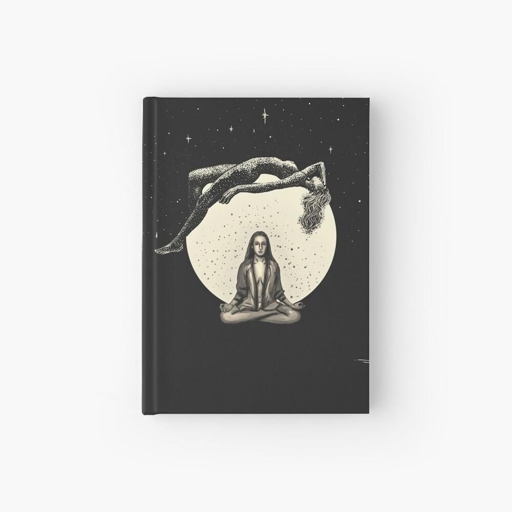 Lunar Meditation Hardcover Journal