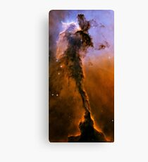 Hubble Space Telescope Print 0024 - The Eagle Has Risen - Stellar Spire in the Eagle Nebula  - hs-2005-12-b-full_jpg Canvas Print