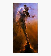 Hubble Space Telescope Print 0024 - The Eagle Has Risen - Stellar Spire in the Eagle Nebula  - hs-2005-12-b-full_jpg Photographic Print