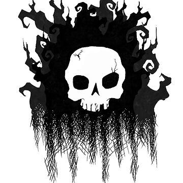 Spooky Skull Forest by SuspendedDreams