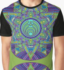 Psychedelic Bassnectar Sacred Mandala Trippy Hallucinogenic  Graphic T-Shirt