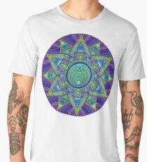 Psychedelic Bassnectar Sacred Mandala Trippy Hallucinogenic  Men's Premium T-Shirt