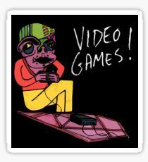 Video Games! Sticker