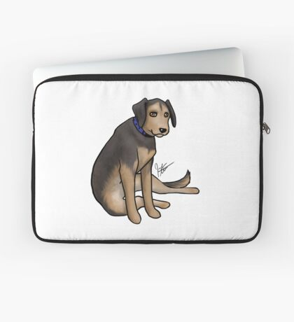 Scout the Saddest Puppy Laptop Sleeve