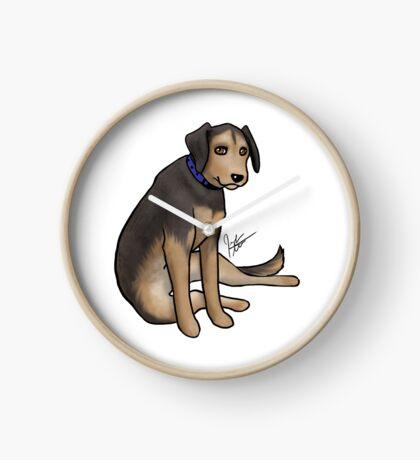 Scout the Saddest Puppy Clock