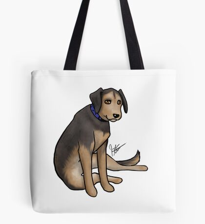 Scout the Saddest Puppy Tote Bag