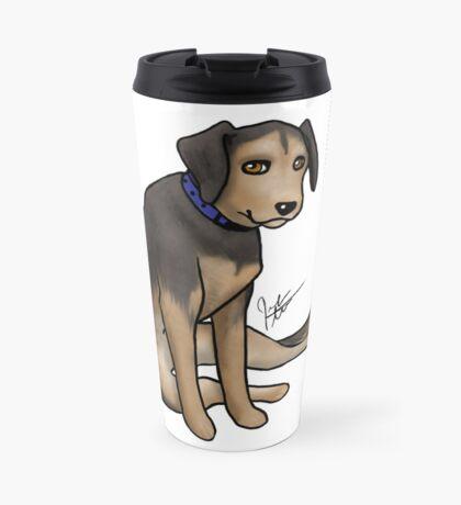 Scout the Saddest Puppy Travel Mug