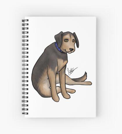 Scout the Saddest Puppy Spiral Notebook