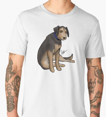 Scout the Saddest Puppy Men's Premium T-Shirt