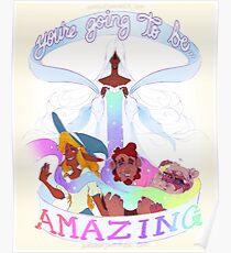 """You're Going to be AMAZING"" The Adventure Zone Art Print Poster"