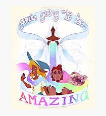 """""""You're Going to be AMAZING"""" The Adventure Zone Art Print Photographic Print"""