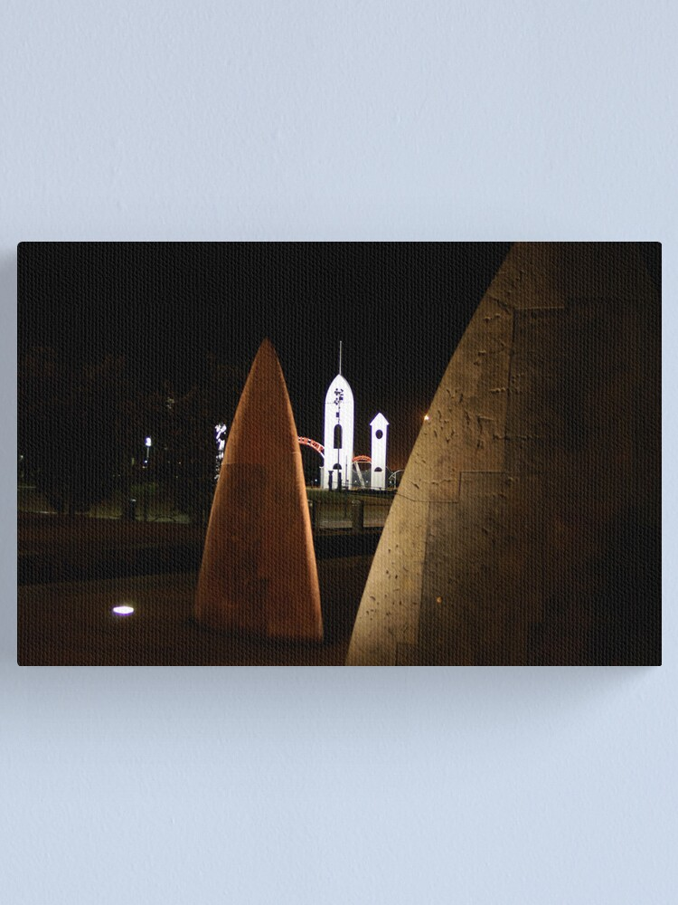 Alternate view of Night Sails Canvas Print