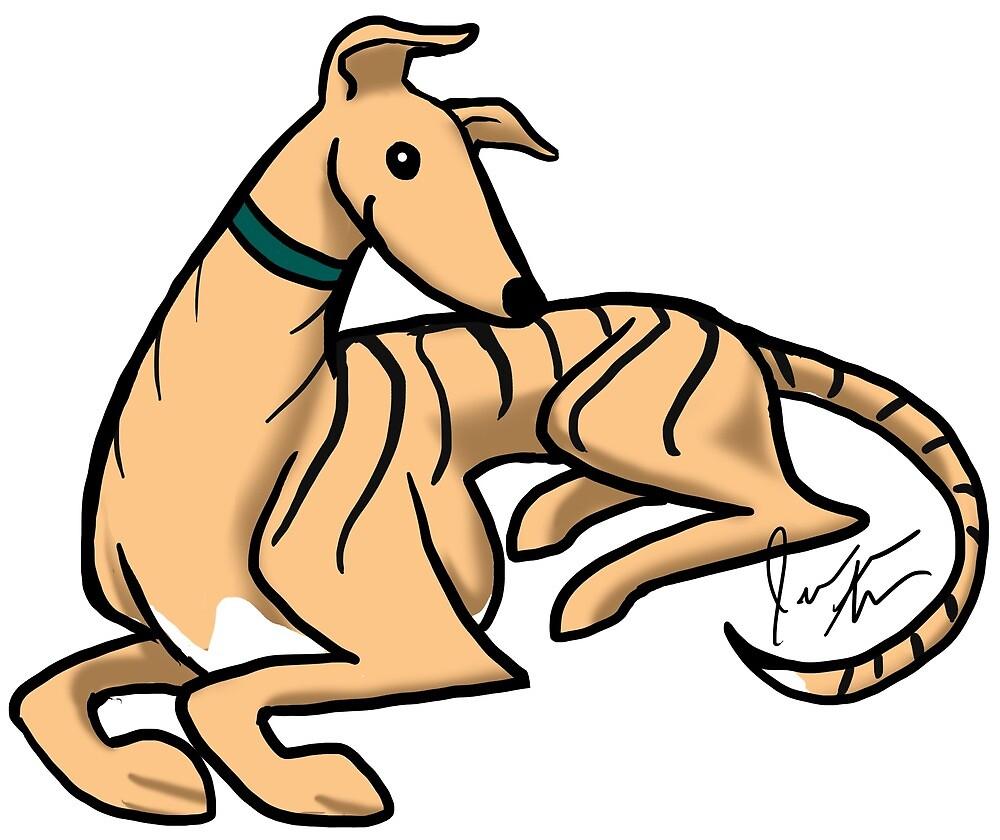 Greyhound by Jennifer Stolzer