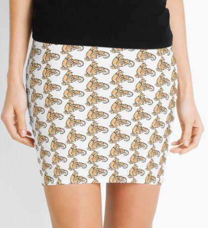 Greyhound Mini Skirt