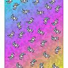 Leopard Print Astronauts by RogueGear