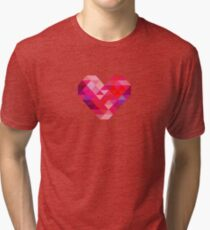 Prism Heart Tri-blend T-Shirt