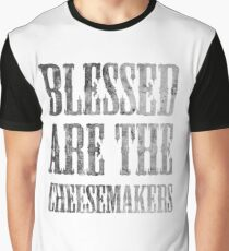 Blessed are the cheesemakers   Cult TV Best of British   Monty Python Graphic T-Shirt