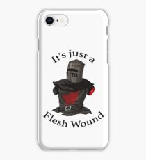Monty Python | It's Just a Flesh Wound | Cult tv Best of British iPhone Case/Skin