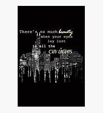 city lights 2 Photographic Print